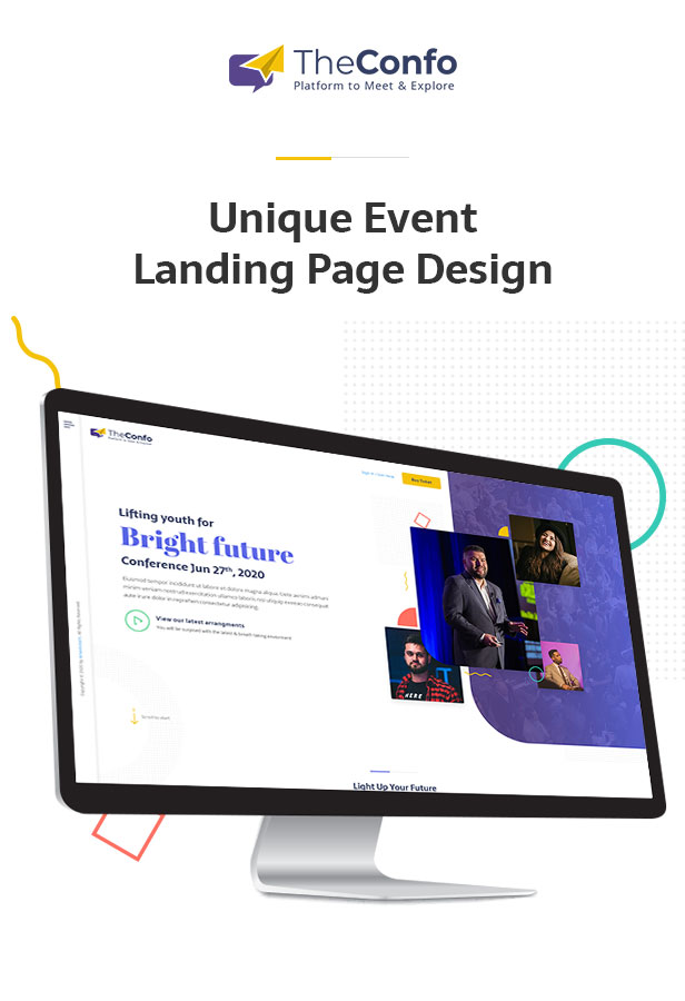 Confo - Event Landing Page - 1
