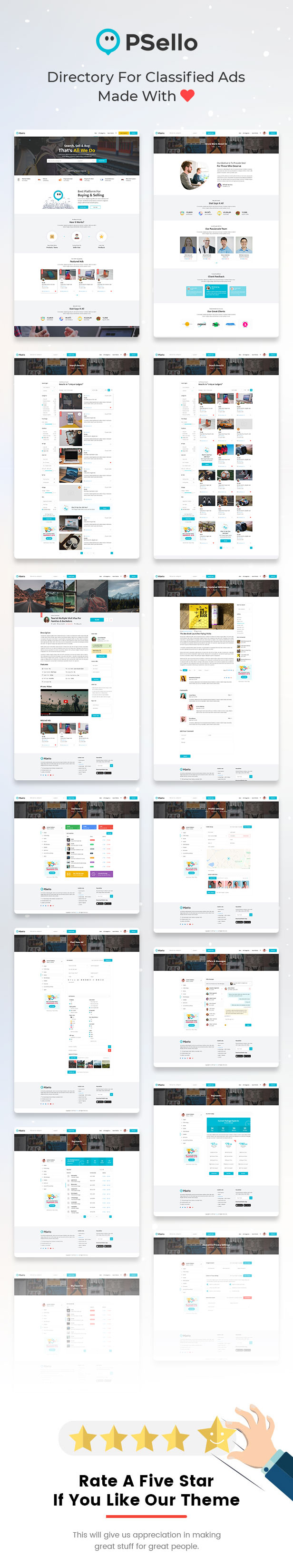 Psello - Classified listing HTML Template - 4