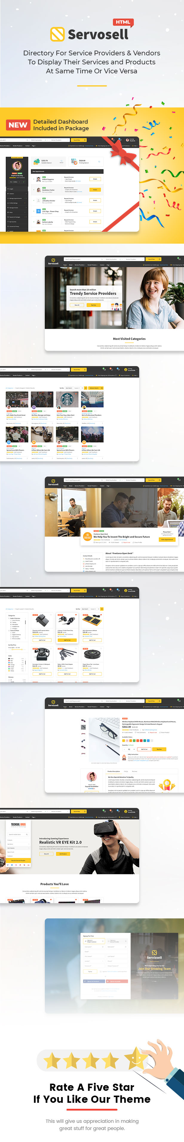 Servosell - Service Providers and Vendors Directory Template - 4